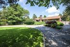 In bucolic Remsenburg, South of South Country Road, sits this one level home on a beautiful cul de sac lane. A circular driveway leads to this bright & airy 2 Bedroom, 2 Bath + office & cabana. Living Rm w/ Vaulted Ceiling, 2 sky lights, wood burning fireplace & Formal Dining Room. The 3 year old renovated kitchen overlooks the stunning & totally private backyard, w/ 20 X 40 pool surrounded by mature landscaping. A Must see.