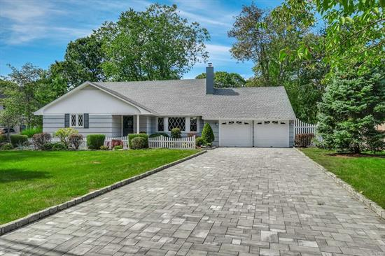 Don't Miss This Quality Remodeled Home South of Montauk In East Islip. Great Salt Water/Heated In-Ground Pool, Fabulous Open Space With New Kitchen And Master Suite On First Floor. Wood Floors, Fireplace, Sliders To Paver Patios, Attached 2+ Car Garage. Near Maintenance Free Yard, Huge Paver Driveway. Absolutely Move-In And Fabulous. Close to Docks, Marinas, Parks and so much more...Come See It!
