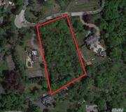 Best deal on land in prestigious Village of Old Westbury. Prime, Cul-de-sac location on 2 Acres surrounded by Multi-million dollar estates!