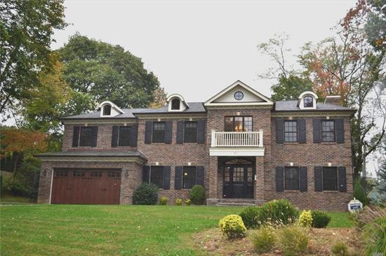Bring Your Suit Cases And Come To This Fully Furnished 4 Years Young Brick Central Colonial. Over 6400 Sq Ft Of Luxury Including Finished Lower Level. House Is Meticulously Maintained. Grand Entry, High Ceiling, Wood Floors, Master Bedroom With En suite And His & Hers Closets. Office/Bedroom On First Floor. State Of The Art Kitchen With Top Of The Line Appliance. Convenience Location Closed To Express Way, Shops & Restaurants. Too Much To List.