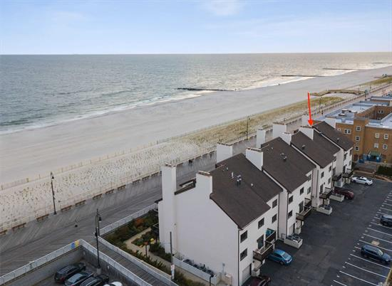 Stunning Direct Oceanfront 3000SQ/FT Townhouse - Originally 2 Multi-Level Condo Units Combined - Now Offered As Its Own Unit. Featuring Private Unobstructed Oceanfront Terrace And Master Bedroom Deck Facing North. 4 Bedrooms, 3 Full Baths, Gas Fireplaces, 1 Car Garage and 3 Parking Spaces. Beautifully Landscaped Grounds And Direct Access Out To Boardwalk. Come Live On The Ocean!