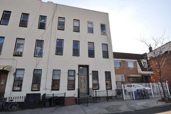 Beautiful 2 Bedroom Apartment for Rent in Williamsburg. Features Living Room/Dining Room, Eat-In-Kitchen with Stainless Steel Appliances, and 1 Full Bathroom. Hardwood Flooring Throughout. Heat and Water is Included. There is Access to the Backyard. Convenient to Transportation and Shops