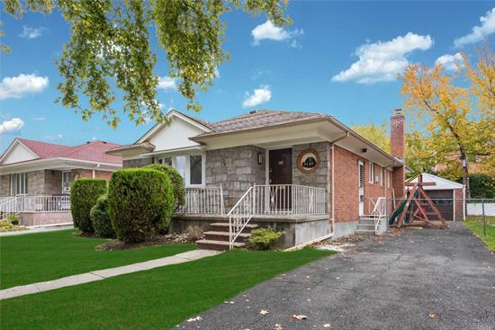 Beautifully renovated large Ranch. Home includes central air conditioner and heating systems, a large master bedroom, 2 bathrooms, 2 bedrooms, living room, dining room, and an eat-in kitchen. No pets allowed. ( Basement and garage or not being rented out)