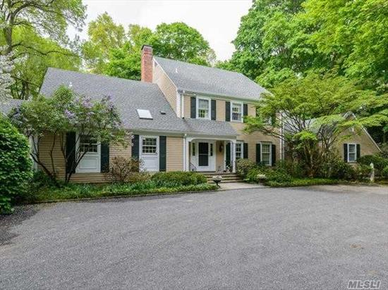 Beautiful 5 Bedroom Custom Colonial in Private Cherrywood Community with Caretaker. Priperty locate in Glen Cove Limits and can be Serviced by LV PO. Homeowner's Association Dues $5900 a year.