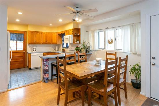 Well Maintained 3 Bedroom 2 Bath Home Located In The Heart of Barnum Woods Proper. Open Bright Layout That Includes Updated Kitchen, Bathrooms, Boiler, Laminate Flooring & High Hats. The Home Includes A Wood Burning Stove The Helps Lower The Heating Costs.