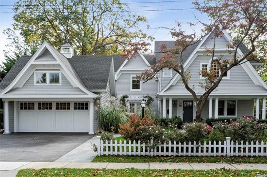 Fully Renovated Custom Colonial W/Open Flr Plan For Grand Entertaining On Oversized Property In The Harvard Sect.1st Fl Boasts Gourmet Kitch W/High End Applian & Custom Cabinetry, LivRm W/Fpl, Exquisite Millwork & Vaulted Ceilings, Elegant DinRm W/Drs To Patio, Sunlit Den & Huge Mudrm W/Cust Cab & Rad Heat. Off/Bedrm & Full Bth. 2nd Fl Features Mast Suite W/Bth WIC & Balconies Overlooking Lrg Yard W/Pool & Patio, 2 Add Bedrms, Full Bth/Laundry Rm & Sitting Rm. Huge Fin Basement W/ Custom Cabinet