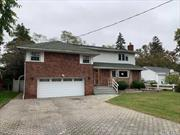 Oversized, Split Style Home. This Home Features 4 Bedrooms, 3 Full Baths, Formal Dining Room, Eat In Kitchen, Den & 2 Car Garage. Centrally Located To All. Don't Miss This Opportunity!