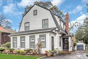 Old World Charm! Immaculate and updated 4 bdrm 2 1/2 bath on oversized lot. Entry foyer, Living rm w/fireplace, FDR, EIK, 2 separate wood burning stoves. Separate Mother/Daughter apartment w/proper permit. Hardwood floors. Updates include: approx. 2016 roof, 2016 HW heater, 2012 Boiler, Kitchen. 200 amp electric, Full basement-part finished. Priced to sell!