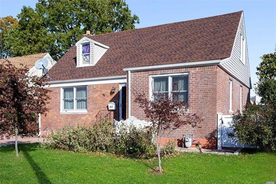 MANHASSET HILLS!!! Lovely Cape Completely Renovated in 2014 In Desirable Herricks Sd #9. This Home Boasts 3 Bedrooms,  3 Full Baths,  Eat-In-Kitchen. Formal Dining, Living Room, Family Room, Wood Floors Throughout First Level. Full finished Basement, Laundry Room, In-Ground Sprinkler System, Gas Heat,  Close To All Major Expressways, Hospitals And Shopping.