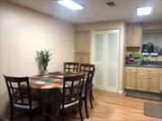 2 bedroom/1bth Condo With Eat in Kitchen, , Built in storage thru -out. Patio for BBQ. Club house, swimming pool, tennis , basketball, gym.