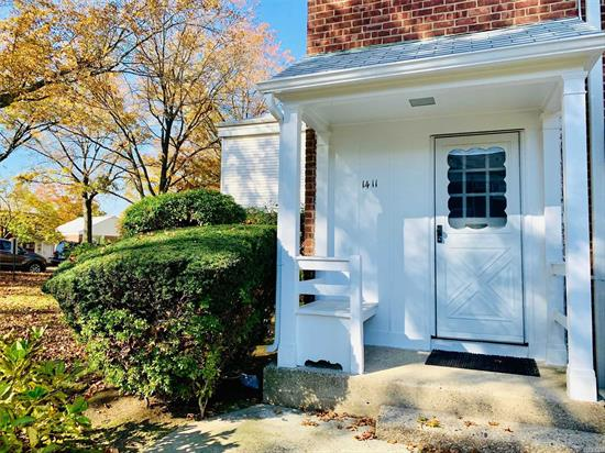 Lovely sun drenched upper corner 1 bedroom. Located in desirable Bay Terrace Gardens. Gorgeous hard wood floors in living and dining area. Tons of storage thanks to huge stand up attic and 4 nice size closets. Close to shopping, express bus & LIRR. Maintenance includes 1 A/C, Gas & Electric, parking and washer/dryer is available for an additional fee. A Must See