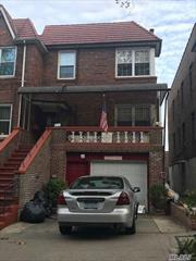 Legal 3 family, semi-detached, brick home. Oil heat, separate hot water heater. House in excellent condition. Hardwood floors. Walking distance to train station.