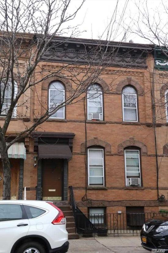 Brick 3 family in the heart of Ridgewood. All vacant on title and Only a few blocks to the subway.
