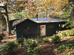 This is a one of a kind home in the Hills at Wading River. Custom wood thru-out. Wood floors, two wood-burning stoves, cathedral ceilings. Very warm and inviting. Tucked back in the woods with nature all around. Great summer home or all year-round living.