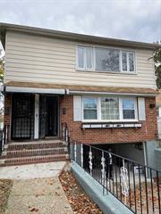 Beautiful newly renovated 3 bedroom & 1 bathroom 2nd floor apartment for rent in a quiet street. Close to transportation & amenities.