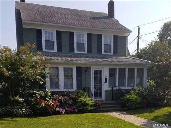 Spacious & Immaculate 1 Bedroom Rental In A 2 Family Home Located In Charming & Quaint Old Woodmere. Large Bedroom, Living Room, Eat-In-Kitchen, Dining Room/Office + Large Attic For Storage, Includes Washer/Dryer, Your Own Private Porch, 24 Hr Street Parking & Beautifully Manicured Grounds.