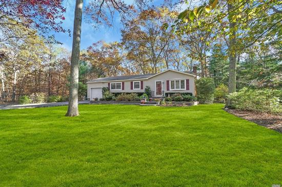 Come See This Beautiful 3 Bed, 2 Bath Ranch Featuring EIK, Living Room, Dining Room, Open Floor Plan, HW Floors, Full Finished Basement, Attached Garage, Rear Deck, Large Yard, .46 Acre Lot, Taxes Only $6, 651.84 After Star...Don't Miss This Well Located, Turn-Key Home