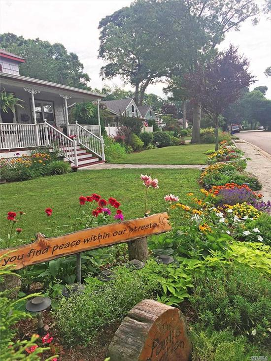 Welcome To 111 Hunter Avenue-A Quaint 3 Bedroom, 1 Bath Ranch In The Poet Section Of North Babylon. This Home Is Situated On An Oversized 100x141 Corner Lot With A 2 Car Detached Garage, Finished Basement, Wood-burning Fireplace & More! The Meticulous Landscaping Is Guaranteed To Wow Spring Through Summer & The Coziness Of This Home Will Keep you Warm Through Winter. Come Take A Look For Yourself...Before It's Too Late! Taxes W STAR Only $9896