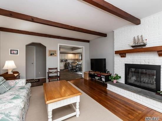 Completely Updated 1920's Cottage In The Heart Of Locust Valley Village. Tons Of Charm and Comfort With Large Living Rm W/ Fireplace Open To Oversized Kitchen Updated For Today's Lifestyle. A True Treasure for Starting Out Or Downsizing. New CAC & More Updates!!