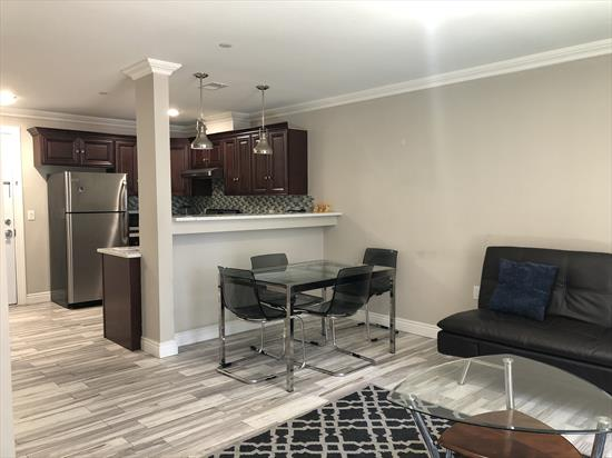 2BD/1Ba in new rental building in the highly desirable Journal Square neighborhood. Just a few short blocks from the PATH train station. Open layout kitchen with stainless steel appliances (refrigerator, stove and dishwasher) and granite counter-tops. The Two bedrooms can accommodate queen-size beds. Unit is flooded with natural light. with Private Terrace, Shared Laundry and parking available to rent! Available for immediate occupancy. Broker's fee applies.