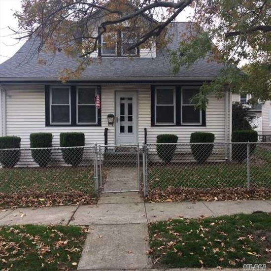 Charming Cape in School District #14. The Unfinished Attic can add additional Bedrooms or Master En- Suite. Detached Garage plus basement.