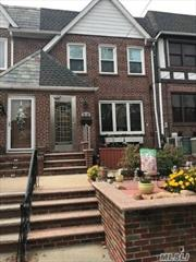 Beautifully Maintained 1 Family Brick on Maspeth Plateau. Features Formal Dining Room, 3 Bedrooms, Full Finished Basement, New Roof, New Windows, 1 Car Attached Garage.