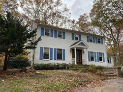 2500 sq ft colonial on 1.3 acres fenced property, newly finished hard wood floors, 16x18 master bedroom w/full bath, large den with double wall fireplace into kitchen, 3 full baths, full basement, 1 car garage
