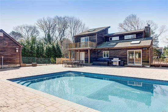 Complete renovation! Perfect summer rental with over 5, 000 sq ft of pavers surrounding new, heated in ground pool. Four beds and three full bathrooms! Huge finished lower level!