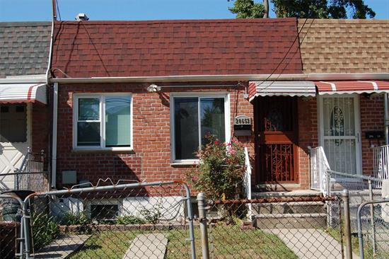 Newly renovated : new appliances, new windows, new roof, new central AC, move in condition. Best school district #26 elementary school PS 31 and middle PS 158. fully finished basement with lots of potential to expand.