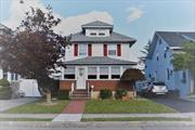 Charming white house on Clinton Ave! Well kept colonial in Lynbrook south. Eat in kitchen, large family room, and formal dining await. Updated roof, windows, gas burner, 200 amp electric, large backyard with deck, large driveway detached garage.