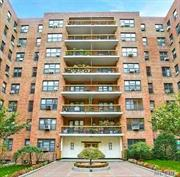 Spacious, Sunny Studio in desirable location in Forest Hills. Hardwood Floors, Large eat-in-kitchen, Updated Bath, Dressing Area and high floor on 7th. Walking distance to Subway, Shopping and Restaurants.