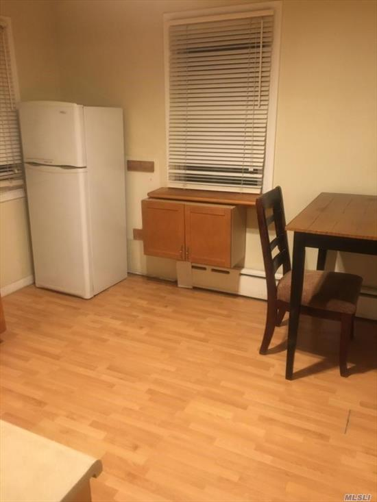 Spacious 1BR Apartment, recently renovated With Big Attic for Storage purposes, Tenant must pay all utilities Available immediatly, Small pets are permitted.