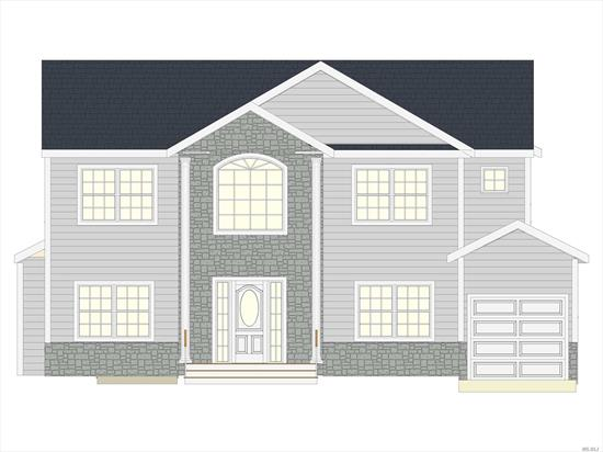 Spectacular New Construction At An Amazing Price! Exceptional Craftsmanship In This 5 Bed 3 1/2 Bath Custom Center-Hall Colonial. Grand Two-Story Entry, Formal Living Room & Formal Dining Room. Great Room w/Fireplace. Custom Eat In Kitchen With Island And Stainless Steel Appliances. Junior Master w/Fll Bth~1st fl. Powder Room. Master En Suite With Full Bath And Walk in Closet, Three Large Bedrooms, Full Bath And Laundry Room. Finished Full Basement With Outside Entrance. Still Time To Customize!