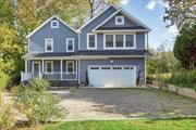IMPRESSIVE 3 BEDROOM COLONIAL IN PERFECT SETTING ONLY MINUTES AWAY FROM THE LONG ISLAND SOUND, PARK , BEACH AND MARINA. OPEN FLOOR PLAN ON FIRST FLOOR, HARDWOOD FLOORS AND CHEFS KITCHEN. MASTER SUITE FEATURES 10 FOOT HIGH CEILING WITH FIREPLACE, SPA BATH AND WALK IN CLOSET. 2 ADDITIONAL BEDROOMS WITH FULL BATH/FREE STANDING TUB. HEATED 2.5 GARAGE, REAR PATIO, FRONT PORCH, AND PLENTY OF PARKING. GREAT FOR ENTERTAINING. LANDSCAPED PROPERTY FOR PRIVACY. A MUST SEE!!!