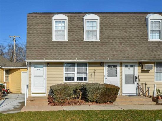 Simple living. This end unit is Freshly painted and has new floors. Move in ready. Located within 1 mile of the Village of Greenport, transportation hub and 5th Street Park and Beach. The lowest priced property in the hottest market.