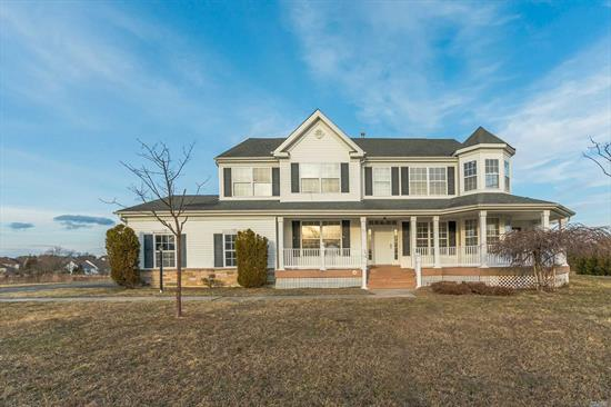 Here's your chance to own this approx. 2, 726 sqft. home sitting on large lot in Wading River. This home features 4 bedrooms, 2.5 baths, living room with fireplace and more. Some TLC will be required to make this home move-in ready, but it's worth the effort. Come take a look!