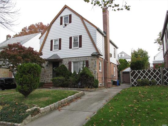 Classic Dutch Colonial! Nice layout. Closets! Fireplace. Updated windows, heat and HW. Security Sliders to yard. Near all. Large unfinished third floor, 2 more rooms possible. Convenient Entrance Foyer. Hi Ceilings in basement. Must see. All information including taxes, etc. not guaranteed & should be verified.