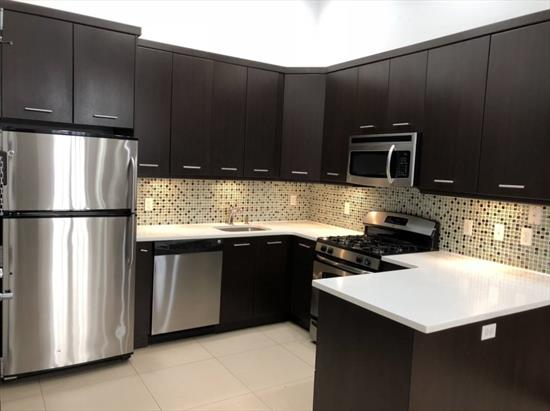 Beautiful 1 Bedroom for Rent in Astoria. Features High Ceilings, Exposed Brick Living Room, Kitchen with Stainless Steel Appliances and 1 Full Bathroom. Hardwood Flooring and Tile Flooring. Water is Included. Convenient to Transportation and Shops.