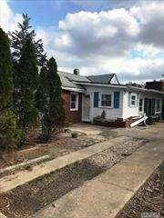 House Being Sold As Is. Very Close to Beach. Large Ranch, Fenced Yard. All Cash or FHA 203K.
