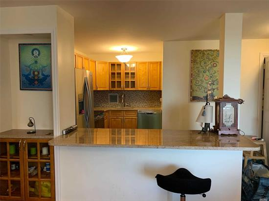 Penthouse, Manhattan Like Sun-Drenched Apartment! New Open Concept Kitchen With Stainless Steel Appliances, Granite Mosaic Back-Splash, Flat Ceilings With Recessed Lighting, Euro Bath, Stunning Walnut Wood Flooring In Living Room/Dining Room. Parking Spot #K21 Available For Transfer Fee.
