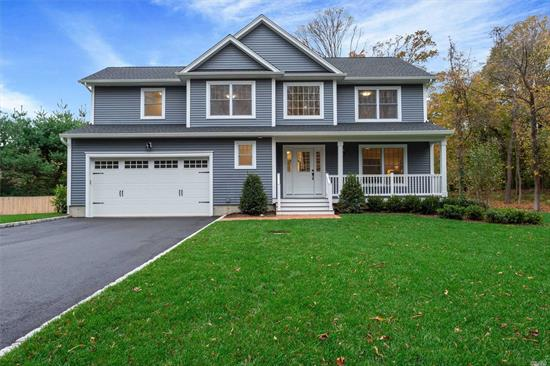 Brand New Construction! 4 Bedroom, 2.5 Bath, Colonial On 1 Landscaped Acre Property. Amenities Include Large EIK, W/SS Appliances And Quartz Countertops, Great Room W/Gas Fireplace, 55 Flatscreen TV And Custom Built-Ins. 2019/2020 Est. Taxes $6, 999 2020/2021 Est $17, 200