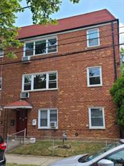 Brick, Corner, 3 story building boasting 3 apartments, garage, and laundry on premises. Verify legal use. Great income potential in very desirable Kew Gardens Hills. Walk to all shopping and areas of worship.