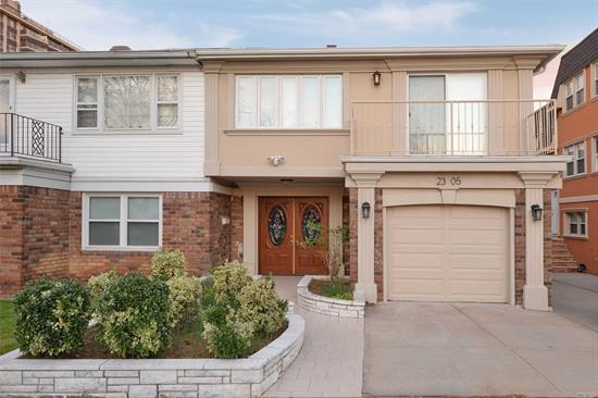 Beautiful Pet friendly Diamond condition All Newly Renovated Duplex In The Heart Of Bay terrace, Bayside. This residence boasts a Gourmet eat in kitchen With Granite Counters, custom Wood Cabinets, Stainless appliances All New Bathrooms and Hardwood Floors. Offers 1/2 Basement, for storage, Garage, driveway, Laundry and an ideal location for your convenience. Nearby schools, Dining, leisure ( Golf, Tennis, Pool clubs ) shopping and transportation .