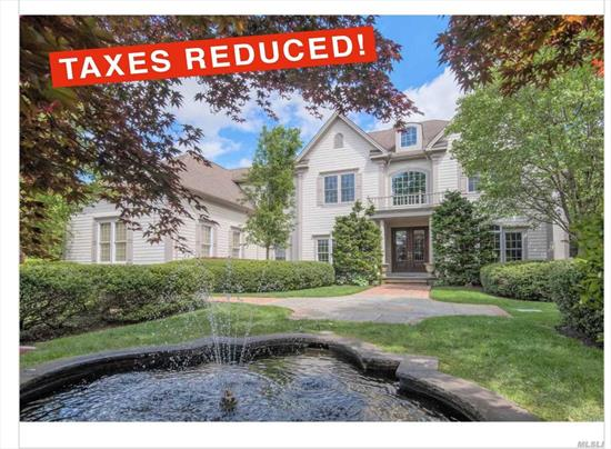 Taxes are being Grieved!!! Anticipated taxes $38, 300. 5 Br, 6.5 Bth Post Modern Home Set on Country Club .75 Prof Landscaped Acre with Ig Htd Pool w/ Waterfall and Cabana. This Home Boasts of a Grand 2 Story Entry, Dramatic Rotunda Foyer, Formal Lr, Full Wet Bar, Library,  Formal Banquet Dr, Gourmet Eik, w/ Large CI and Breakfast Area. The Second Level Features a Large Mbr Suite w/Sitting Rm, His and Her Baths, 3 Brs, 2Fbths and Bonus Rm. The lower lvl consists of Gym, Rec Rm, Bar and Lounge.