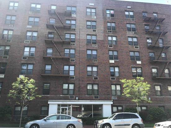 Delightfully Updated, Spacious 1Br/1Ba Condo Unit Nestled in a Well Managed Mid Rise Condominium Building, Situated in a Quiet Section of South Flushing. Directly Across from the Street from Queens College Campus. Nearby Bus Lines: Q25/Q34/Q20A/Q20B/QM44/Q64. Exceptionally Convenient Location With Tons of Awesome Amenities Within Short Walking Distance. Only Steps Away from NYC #1 High School. All Utilities Included, Except Electricity.