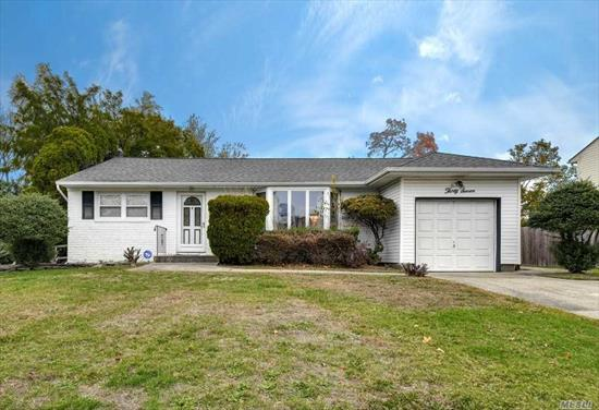 Although This Home is Being Sold As Is. It Sits On a Tree Line Street In The Famed Commack School District. It Offers An Architectural Roof/Siding/ Replacement Windows/Hardwood Floors Under Carpets/Door Off Kitchen & Den To Flat Yard. Master Br Has A Half Bath. Make This Home your Own With Your Personal Touches and Upgrades. Great Way To Get Into The Commack Schools. Do Not Miss This One!!!