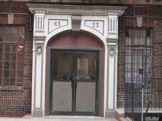 Direct From Investor. No Board Approval & No Application Fees. It Is Required To Have Good Credit Score & Proof Of Income from Tenants. Also, We May Accept More Rent Upfront And Extra Security Deposit To Be Agreed Upon. This 743 Sq ft Lag One Br Apt With Eat in Kitchen.1/2 Blk Subway 5 Mins To Manhattan. Laundry in basement open 24Hr. New Elevator Bldg. Apt will be totally Freshly Painted.