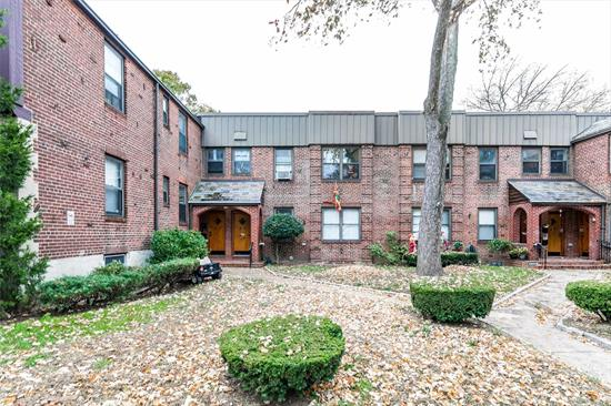 Excellent location, in this Garden Bay complex, a quiet community with great surroundings. This 2 nice size bd apt has a good layout and hardwood floors throughout. Living rm, dining rm, kitchen and 1 full bath, it also features a basement for storage where laundry facilities could be installed. With some LTC it will prove to be a great potential. Close to transportation, highways and the diversed neighborhood of Astoria Blvd and 30th St restaurants.