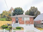 Beautiful Fully Renovated 1 Family Brick Detached Home in the Heart of Queens Village Walking distance from Masjid Ar-Rahman House of Worship.... Ground Floor: *Separate Entrance* Fully Finished Living Space, 2 Large Bedrooms, 1 Full Bathroom, + Kitchen Top Floor: *Separate Entrance* Large Open Concept Living Room & Dining Room, Eat-In Kitchen with Stainless Steel Appliances, 1 Full Bathroom, 3 Oversized Bedrooms with Extra Closet Space Large 40x125 Lot + Attached 1 Car Garage an