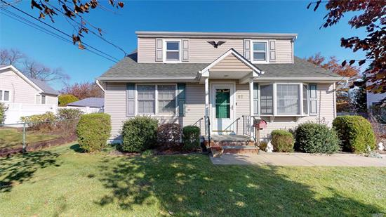 Well maintained expanded Cape with great curb appeal. 3 bd, 2 full bath. Currently permitted accessory apartment- new owner would need proper permit transfer. Income potential! IGS, newer roof....come check it out before it's gone!!